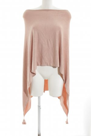 Comma Strickponcho rosé Casual-Look