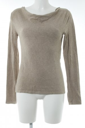 Comma Strickpullover beige Casual-Look