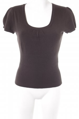 Comma Knitted Jumper brown casual look