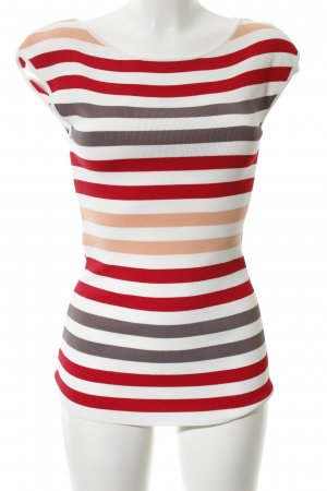 Comma Knitted Top striped pattern casual look