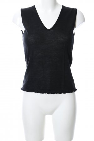 Comma Knitted Top black casual look