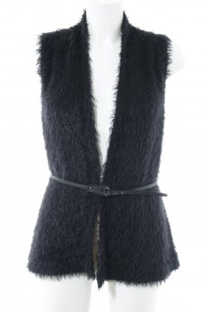 Comma Knitted Vest black casual look