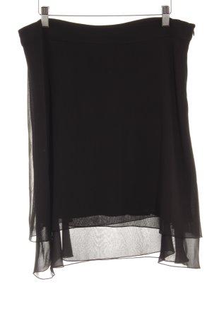 Comma Stufenrock schwarz Elegant
