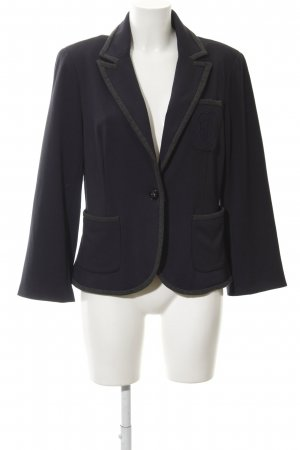 Comma Sweat Blazer dark blue-grey business style