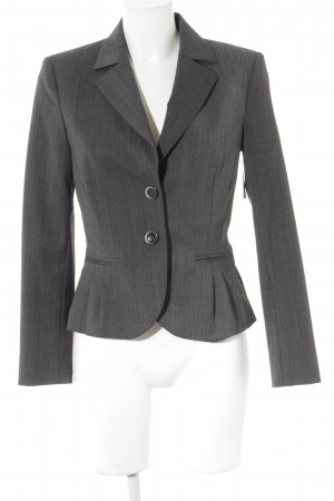 Comma Sweatblazer dunkelgrau Business-Look