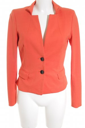 Comma Sweatblazer dunkelorange-hellrot Casual-Look
