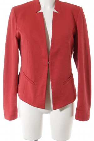 Comma Sweatblazer rot Casual-Look