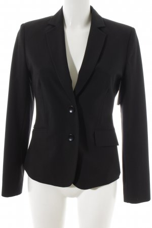Comma Sweatblazer schwarz Business-Look