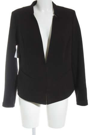 Comma Sweatblazer schwarz Casual-Look