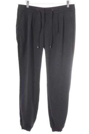 Comma Sweat Pants dark grey flecked casual look