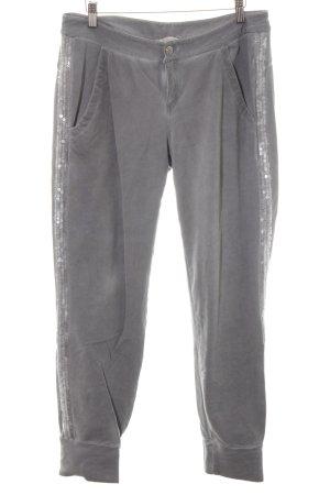 Comma Pantalone fitness grigio stile casual