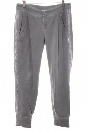 Comma Sweat Pants grey casual look