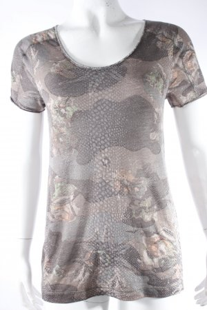 Comma T-Shirt oliv-khaki