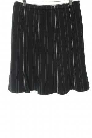 Comma Circle Skirt pinstripe business style