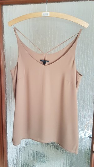 Comma Strappy Top light brown-brown