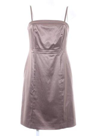 Comma Trägerkleid graubraun Elegant