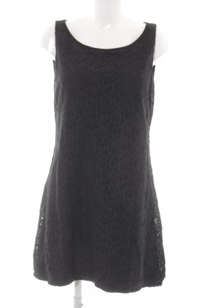 Comma Trägerkleid schwarz Blumenmuster Elegant
