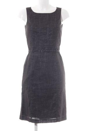 Comma Pinafore dress black check pattern elegant