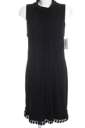 Comma Trägerkleid schwarz klassischer Stil