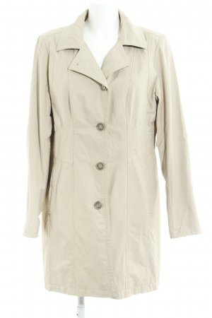 Comma Trenchcoat creme Casual-Look