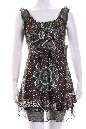 Comma Tunika florales Muster Eleganz-Look