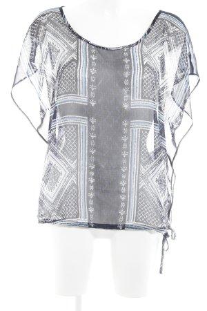 Comma Tunique-blouse motif abstrait Look de plage