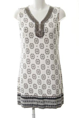 Comma Robe tunique imprimé avec thème style décontracté