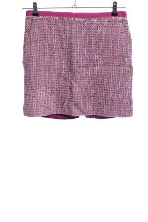 Comma Tweed rok roze volledige print casual uitstraling