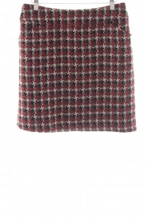 Comma Tweed Skirt allover print classic style