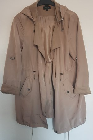 Comma Parka marrone-grigio