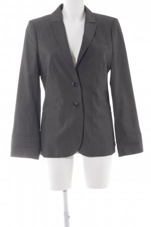 Comma Unisex-Blazer anthrazit meliert Business-Look