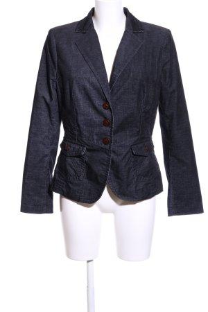 Comma Unisex Blazer blue street-fashion look