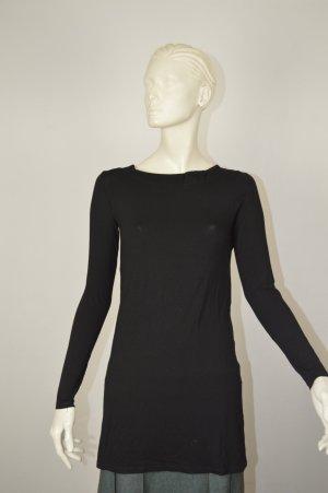 Comma Viskose Kleid Größe 34/36 schwarz wie neu