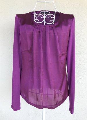 Comma Camicia a tunica lilla Viscosa