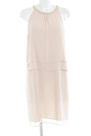 Comma Volante jurk nude elegant
