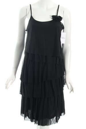 Comma Flounce Dress black elegant