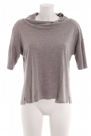 Comma Cowl-Neck Shirt dusky pink casual look