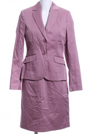 Comma Woven Twin Set pink wet-look