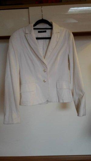 COMMA, weißer Blazer Gr. 40