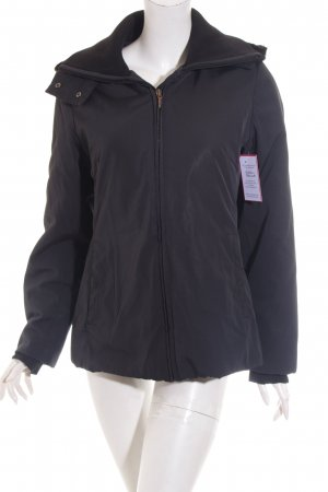 Comma Winterjacke schwarz Casual-Look