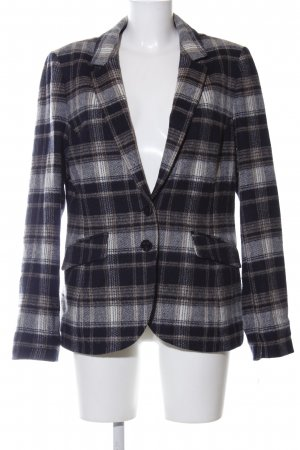 Comma Woll-Blazer Allover-Druck Business-Look