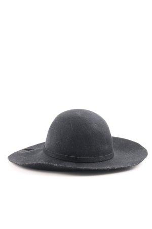 Comma Cappello di lana nero elegante