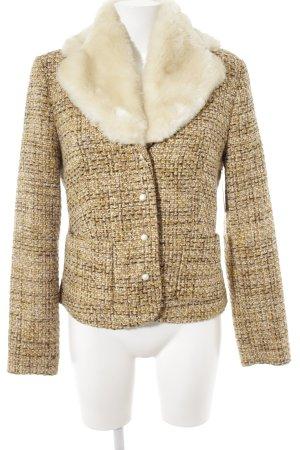 Comma Giacca di lana multicolore elegante