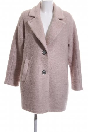 Comma Wollmantel pink Casual-Look