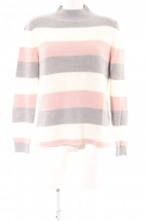 Comma Wollpullover Streifenmuster Casual-Look
