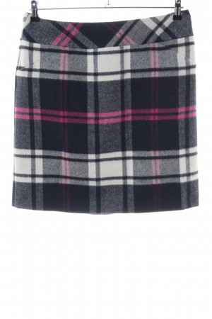 Comma Wool Skirt check pattern business style