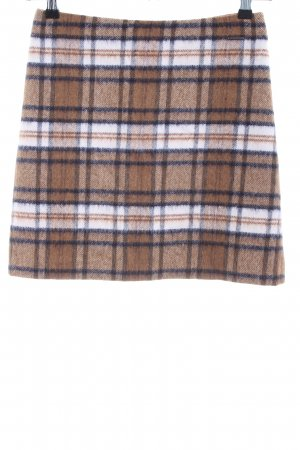 Comma Wool Skirt check pattern casual look