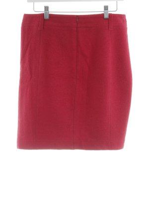 Comma Gonna di lana rosso stile casual