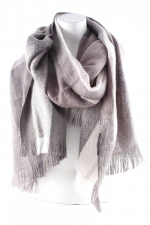 Comma Woolen Scarf check pattern casual look