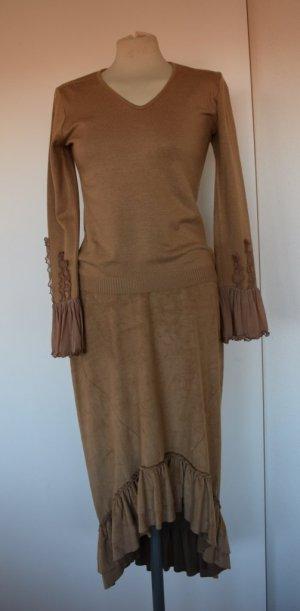 Comma - Wunderschöner Pullover mit Details aus Tüll Gr. 40 neu